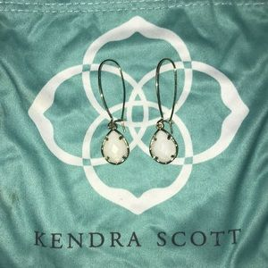 Gold & Pearl Kendra Scott Earrings